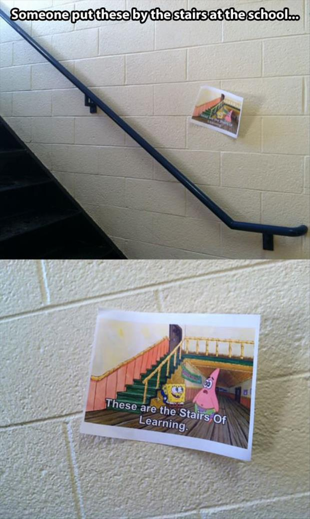 a stairs of learning