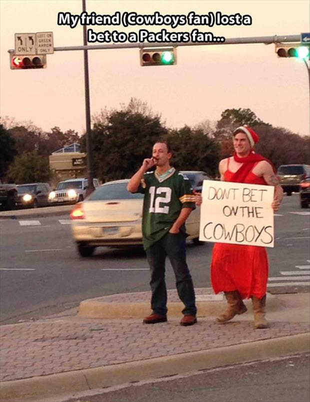 don't bet on the cowboys