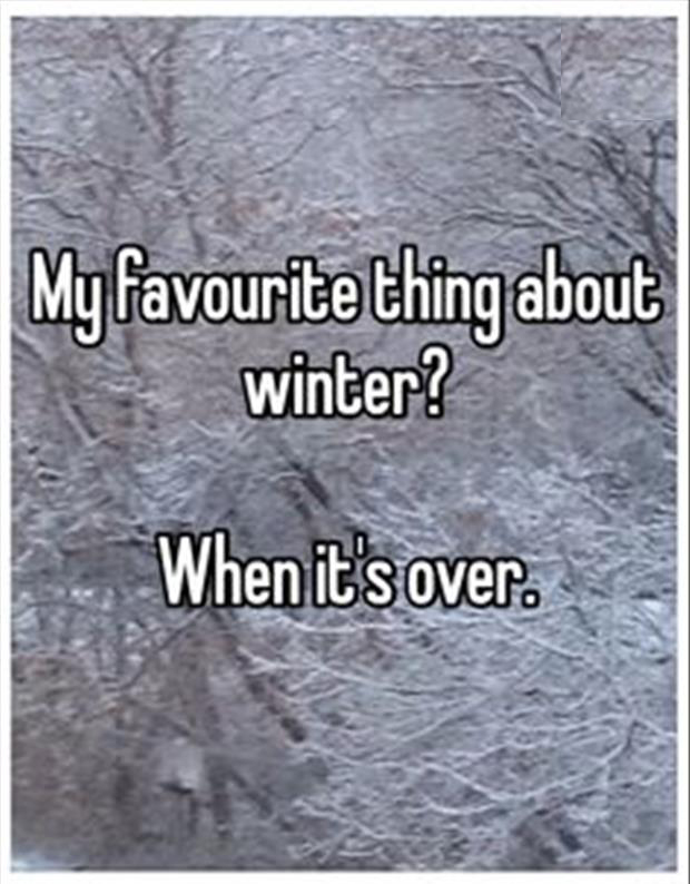 favourite part of winter