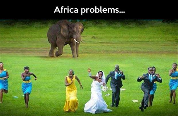 funny africa problems