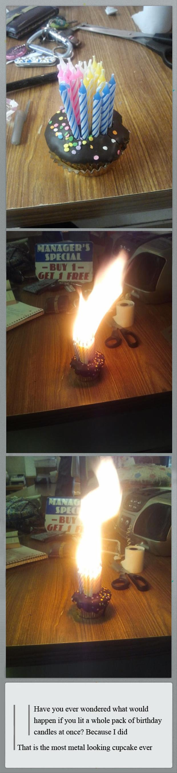 funny birthday candles