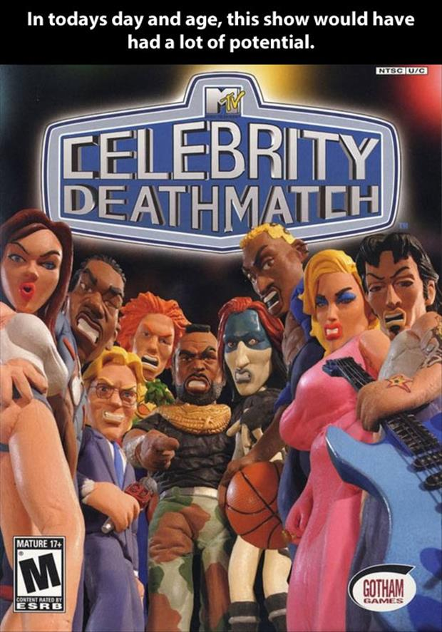 funny celebrity death match