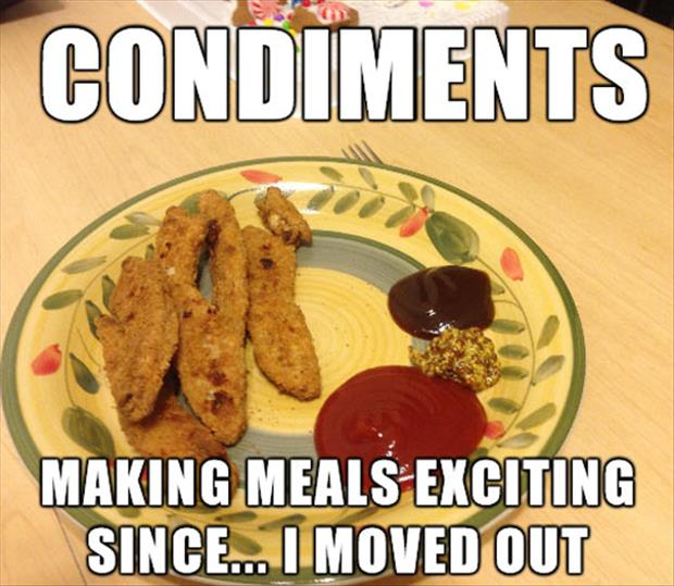 funny condements