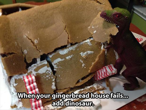 funny ginger bread house