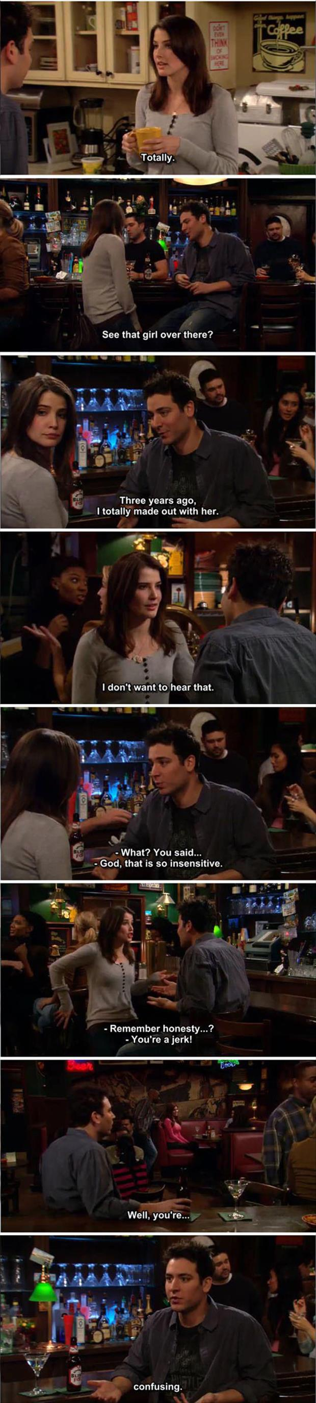 funny how I met your mother captions