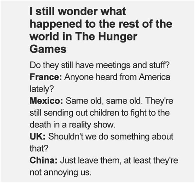 funny hunger games rest of the world