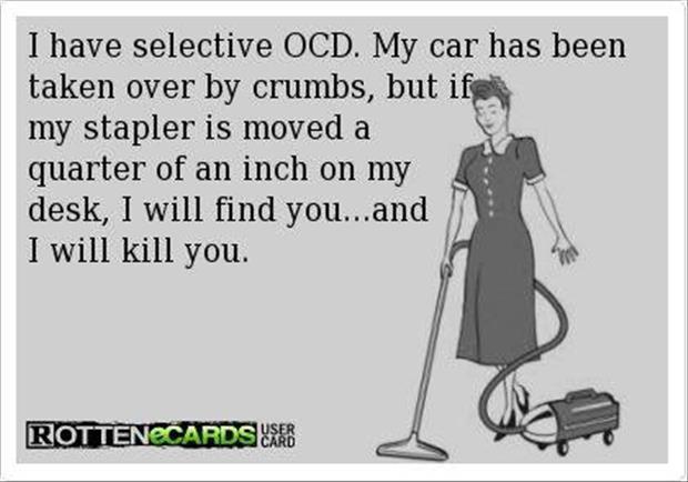 funny ocd moments