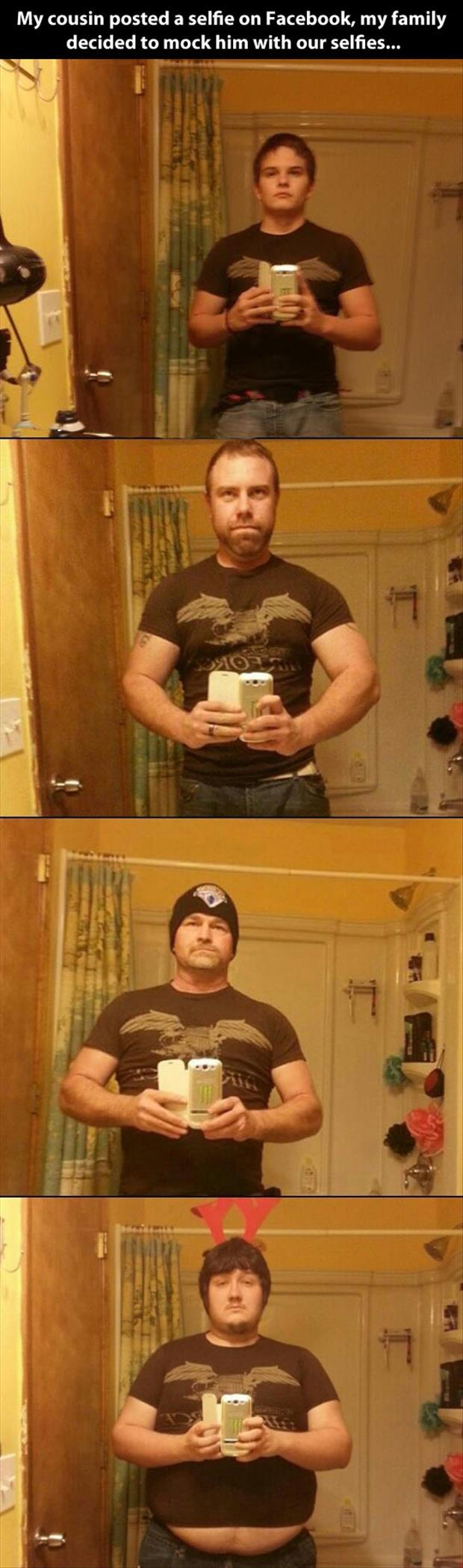 funny selphies