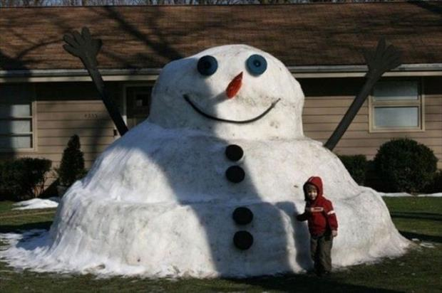 funny snowman (13)