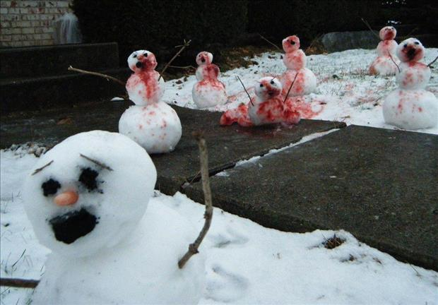 funny snowman (17)