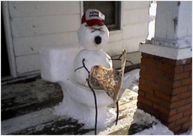 funny snowman (18)