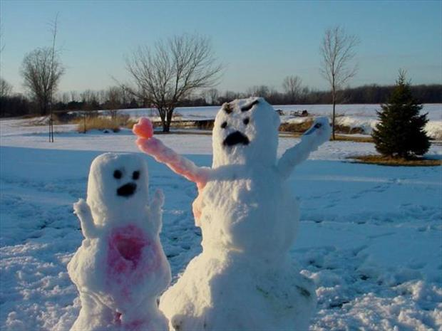 funny snowman (26)