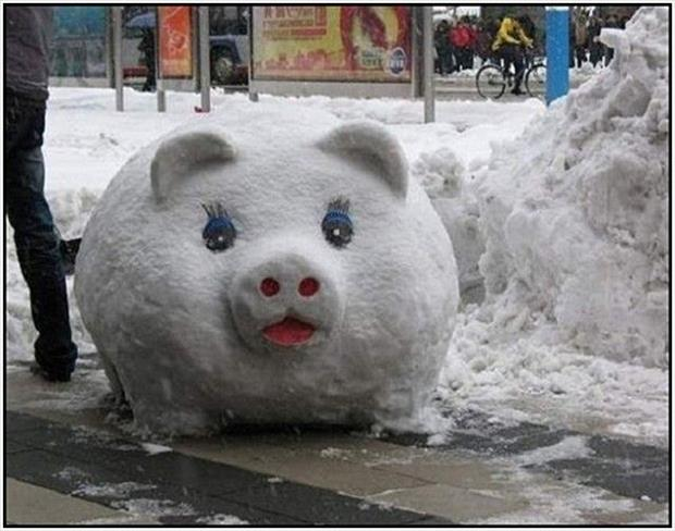 funny snowman (27)