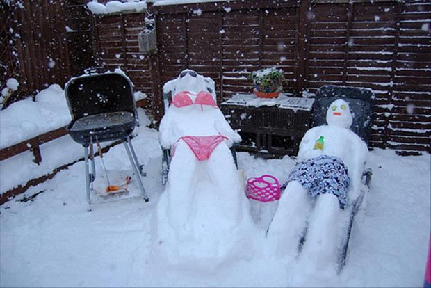 funny snowman (4)