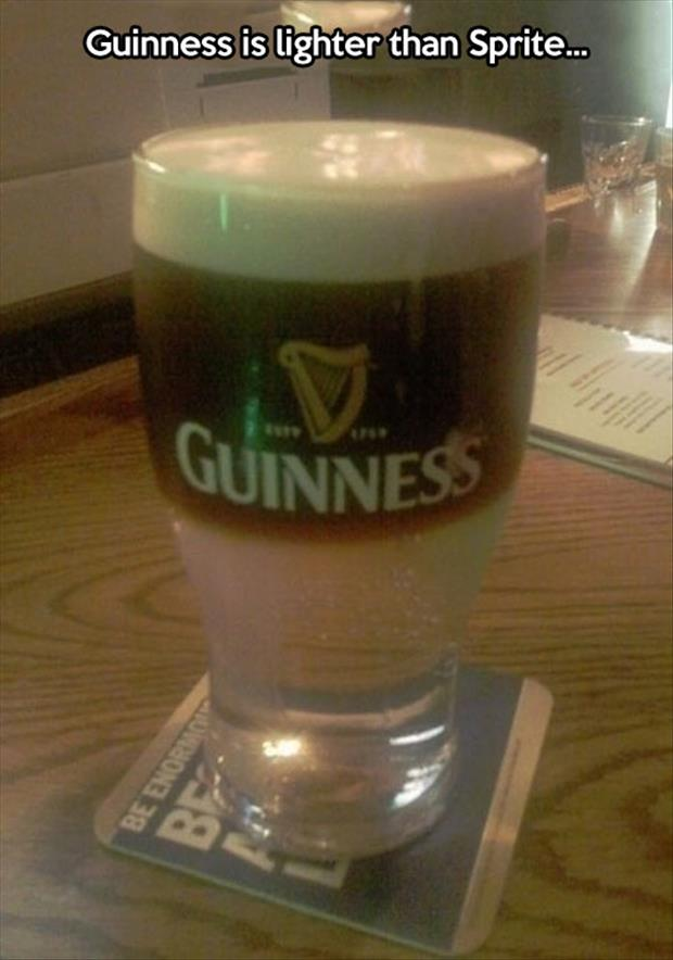 guiness and sprite