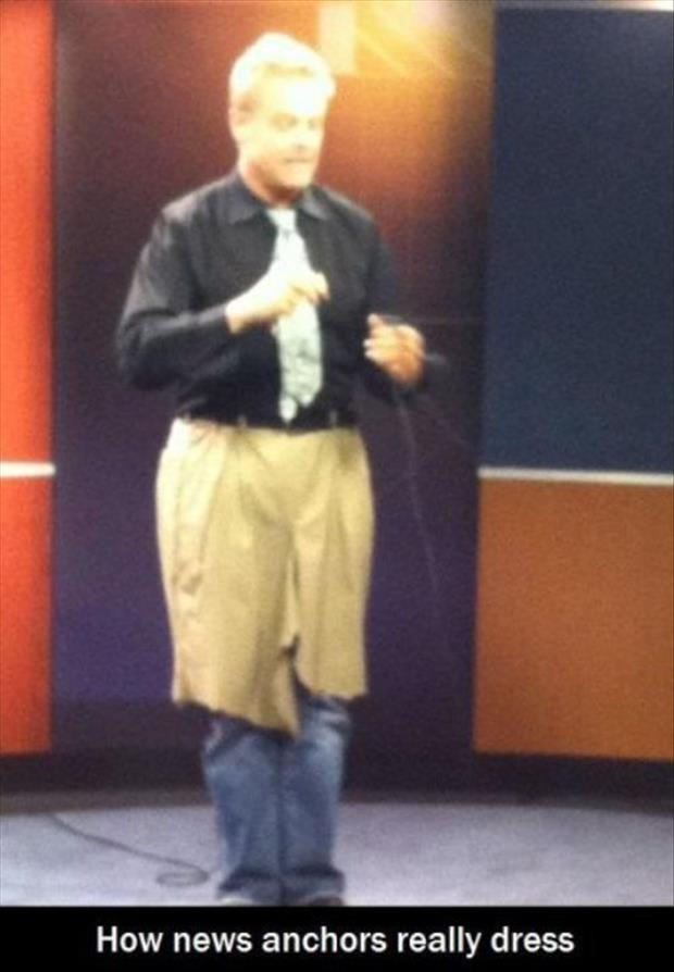 how news anchor dress