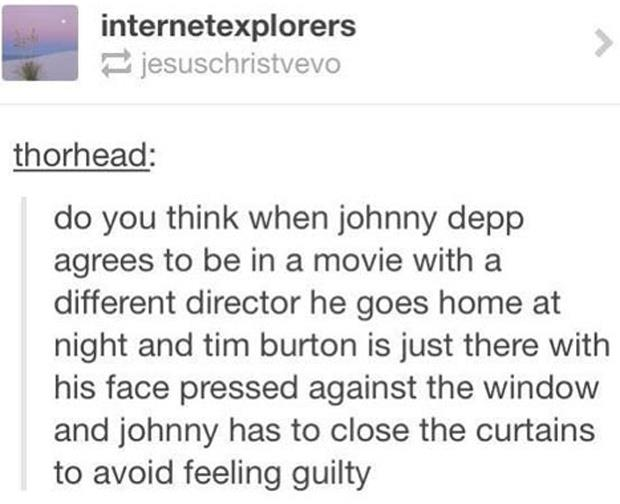 johnny depp funny twitter quotes