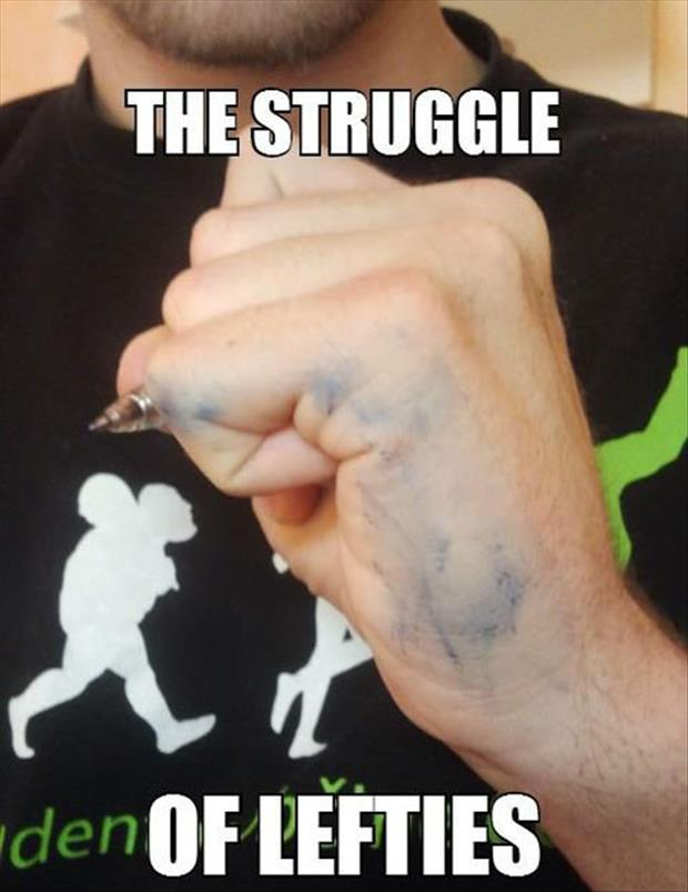 left handed problems (2)