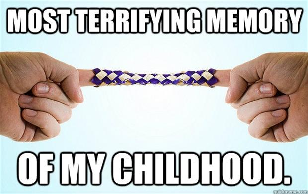 most terrifying moment of my childhood