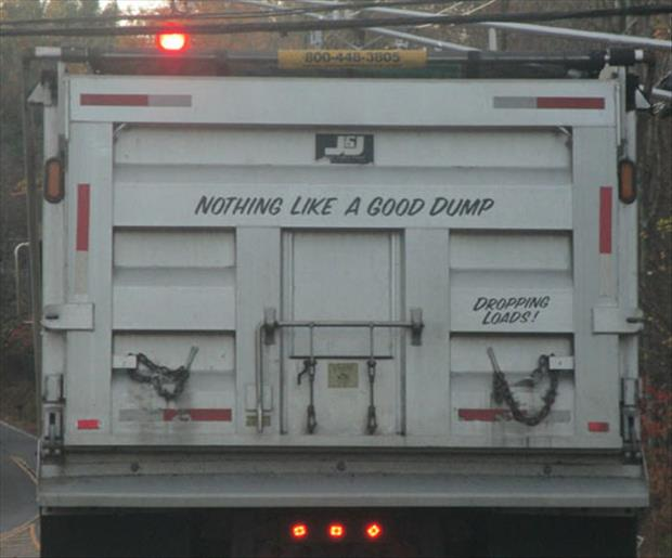 nothing like a good dump a day