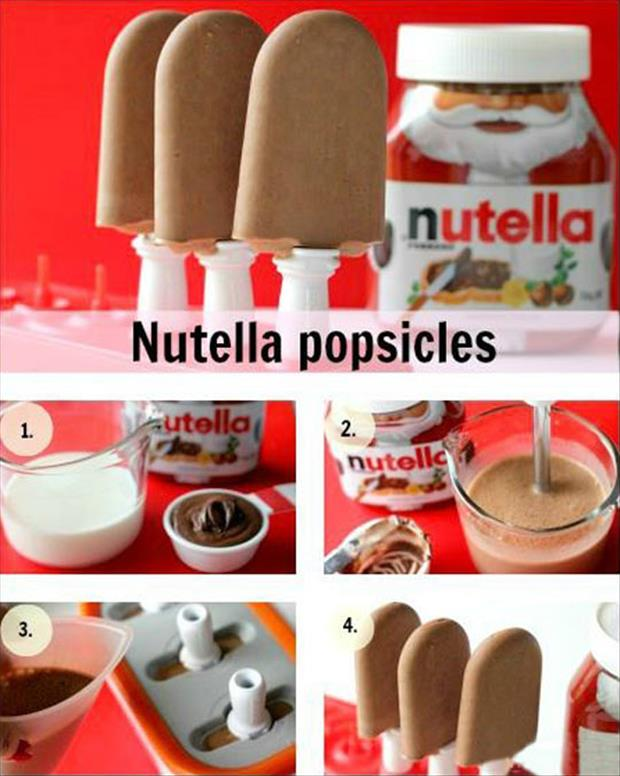 nutella popcycles