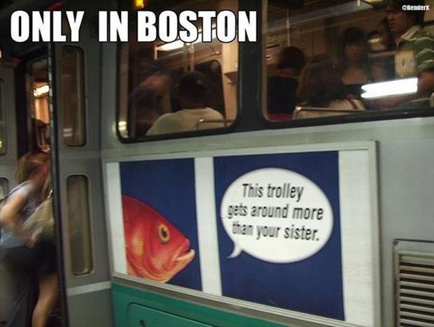 only in boston