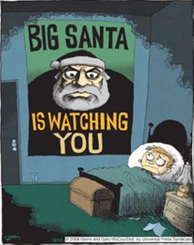 santa is watching you