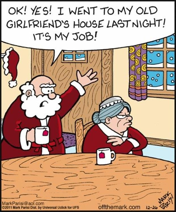 santa's girlfriend