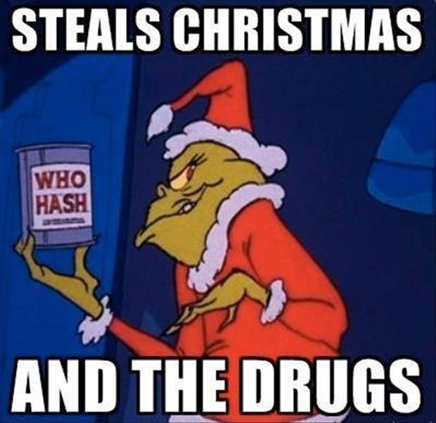 steals christmas