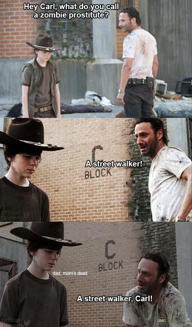 the walking dead street walker