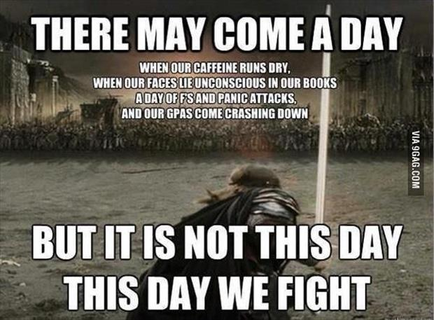 there may come a day