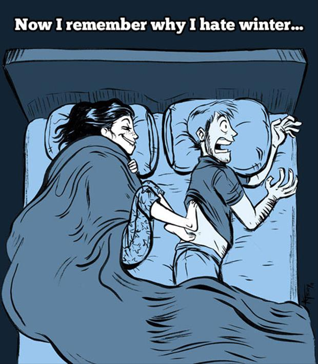 this is why men hate winter