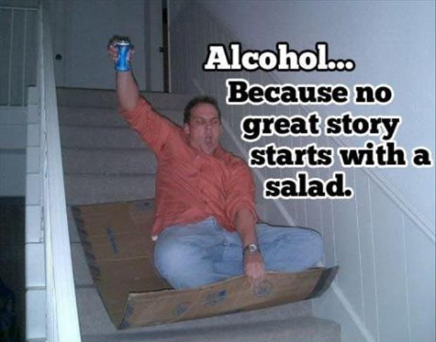 to alcohol