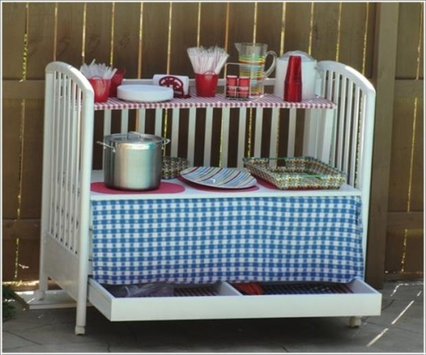 uses for old cribs (13)