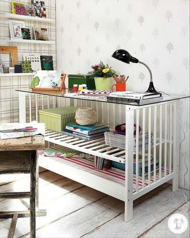 uses for old cribs (14)