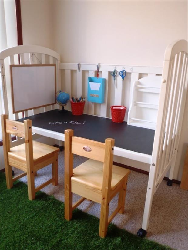 uses for old cribs (15)