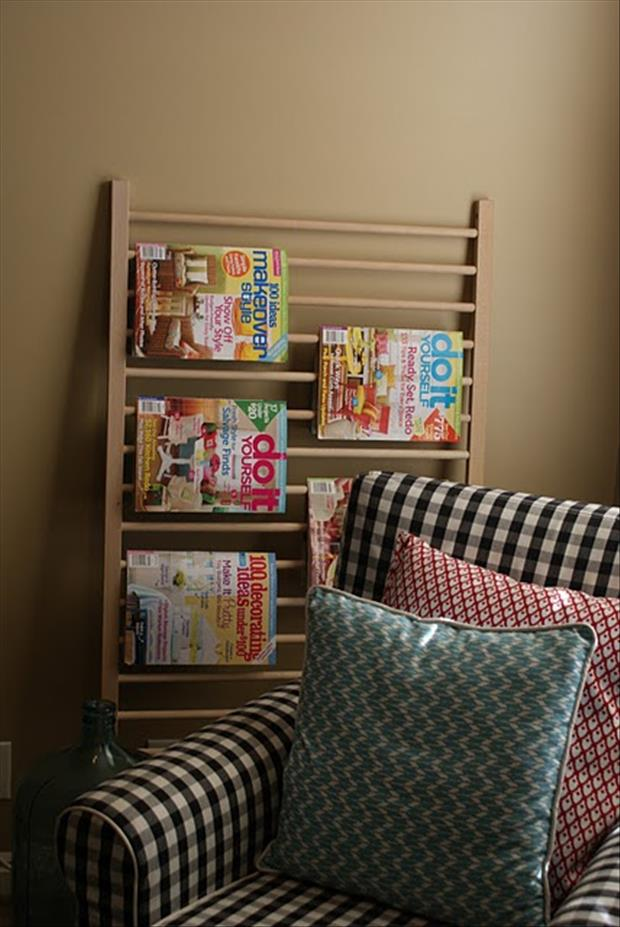 uses for old cribs (5)