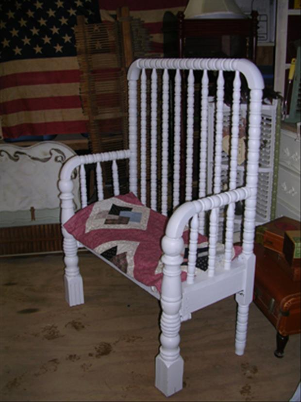 uses for old cribs (6)