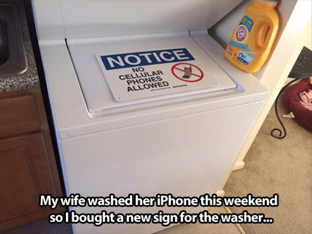 what to do when you wash your iPhone