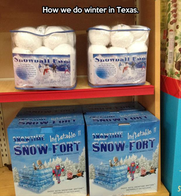 winter in texas