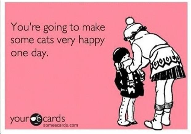 you're going to make some cats very happy some day