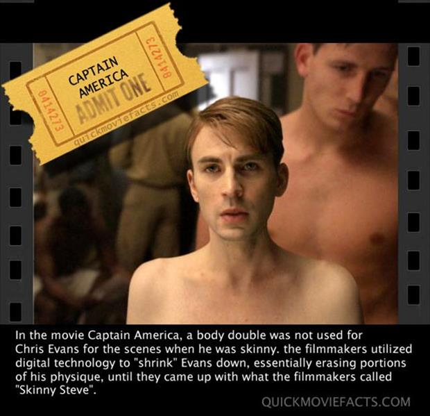 Captain America movie facts