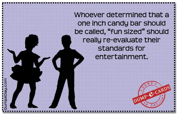 Fun sized Dump E-card