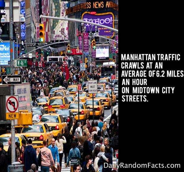 Manhattan Traffic Facts