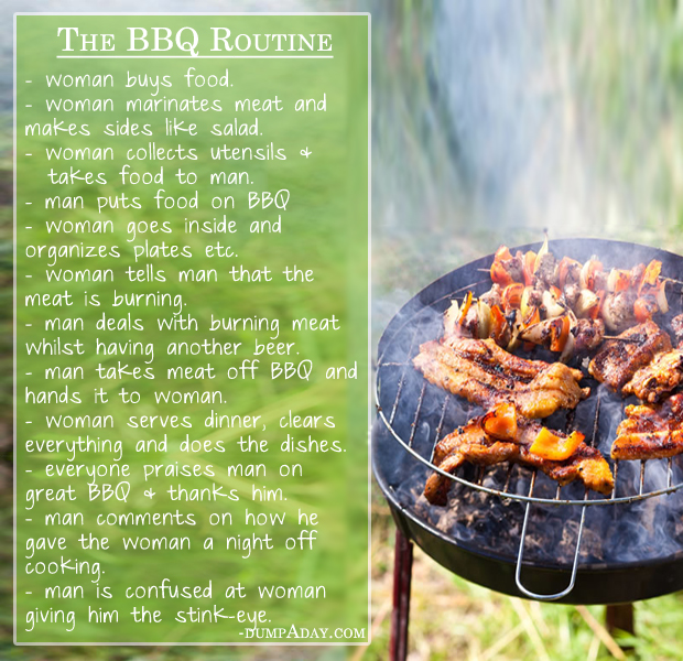 The BBQ Routine