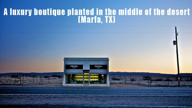 The Most Incredible Roadside Sights - Desert boutique
