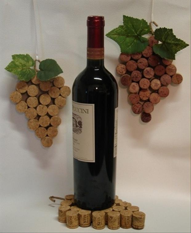 do it yourself crafts with wine corks 40 pics