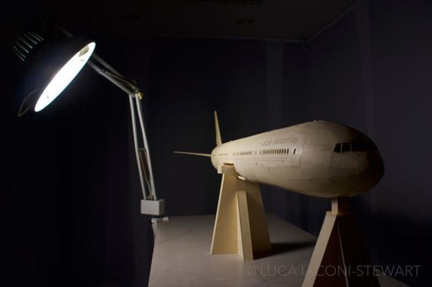 boeing airplane made to scale using just paper (46)