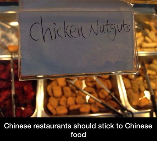 chicken nugets chinese food