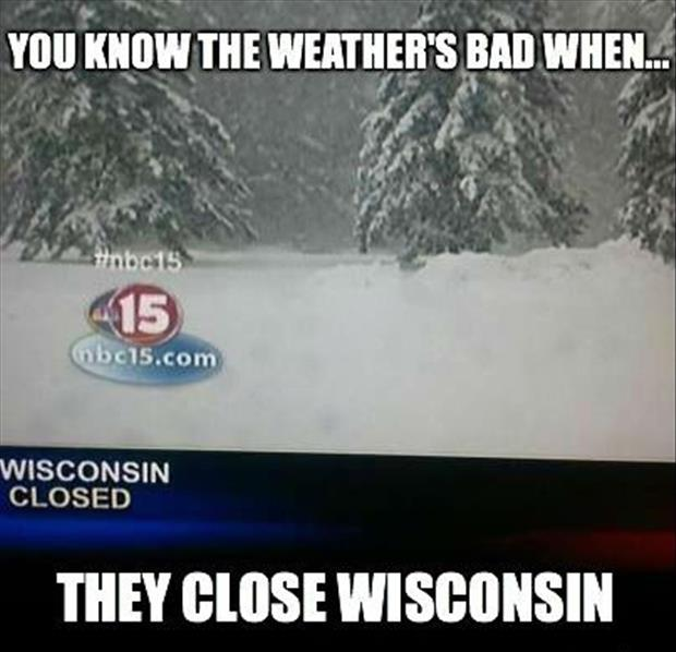 closed wisconsin